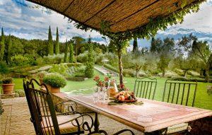Il Convento dei Cappuccini | Patio Dining Area