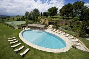 Borgo Finocchieto | Oval Swimming Pool
