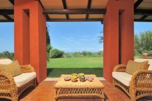 La Civetta | Covered Porch