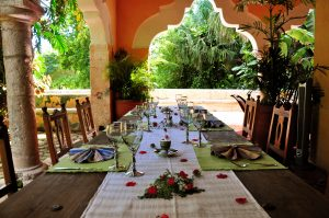 Hacienda Petac | Outside Dining