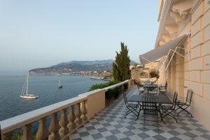 Villa Astor | Terrace Overlooking Sea