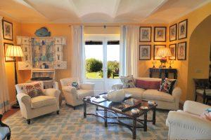 La Civetta | Yellow Living Room
