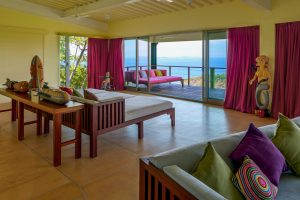 Isla Simca | Bedroom, Living Room, and deck