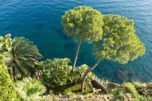 Villa Astor | Lower Terrace: Grottos and Sea