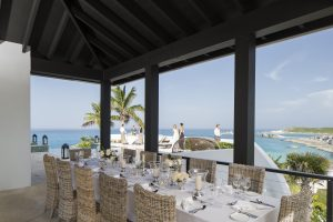 Over Yonder Cay | Beautiful Views from your Dinner Table
