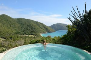 Guana Island | Large Outdoor Swimming Pool with View