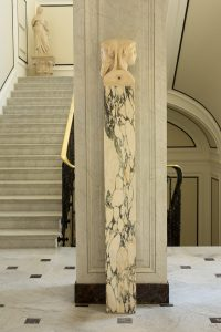 Villa Astor | Roman Columns and Statuary