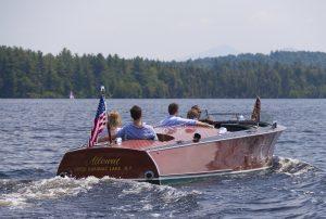 Dry Island | Boating on the lake