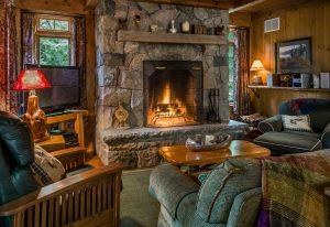 Dry Island | Cozy Fireplace