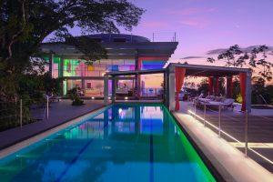 Isla Simca | Pool and Pavilion